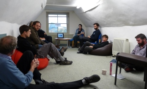 meeting in the Sunley Solar