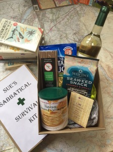 Sabbatical survival kit