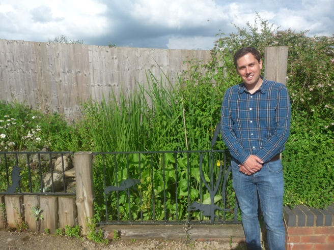 Karl Curtis, Reserves and Community Engagement Manager at Warwickshire Wildlife Trust