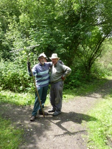 Volunteers at Potteric Carr nature reserve