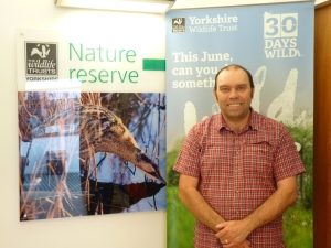 Andy Dalton, Potteric Carr Reserve Manager, Yorkshire Wildlife Trust