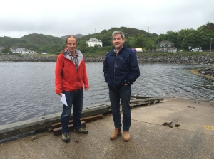 Richard Williams and Boyd Alexander from the Coigach-Assynt Living Langscape Project