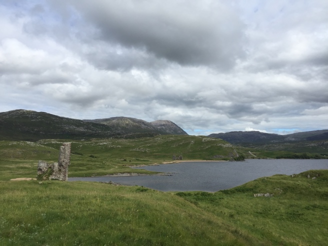 Lake Assynt and castle