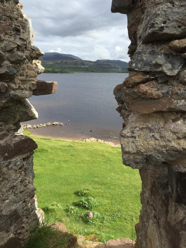 Loch Assynt from Ardvreck Castle