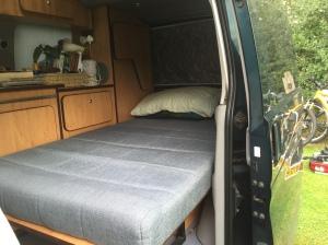 Mazda bongo campervan bed