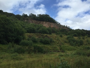 The Ercall Unconformity, reclaimed by green